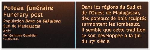 Musée du Quai Branly. Jacques Chirac.