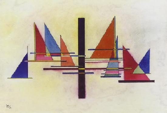 Wassily Kandinsky, Spitz im Werck, 1927