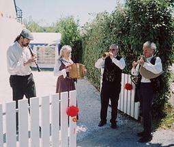 Trio bombarde / biniou / clarinette / accordéon