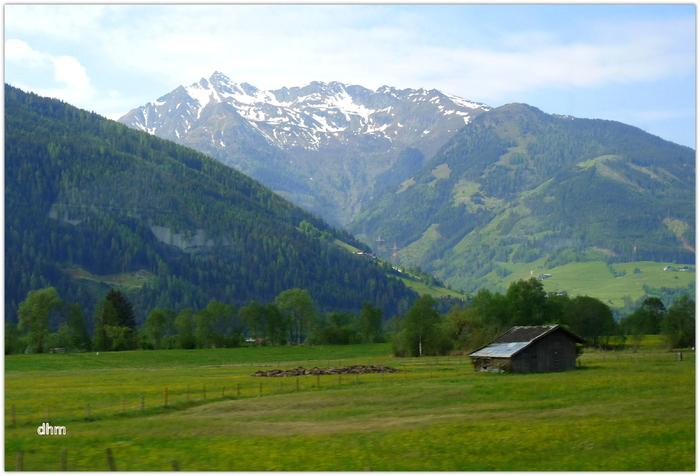 Balade dans les Alpes du Tyrol autrichien.