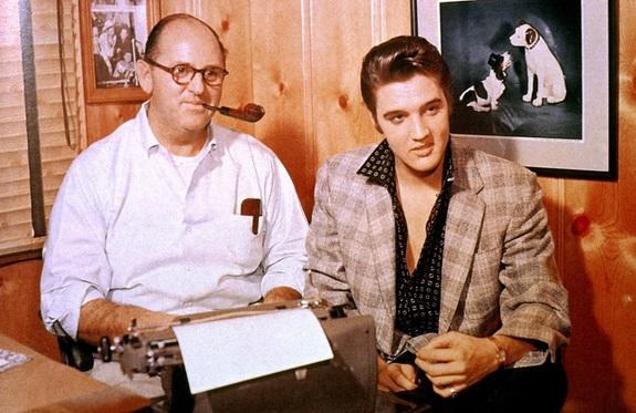 Thomas Andrew Parker et Elvis