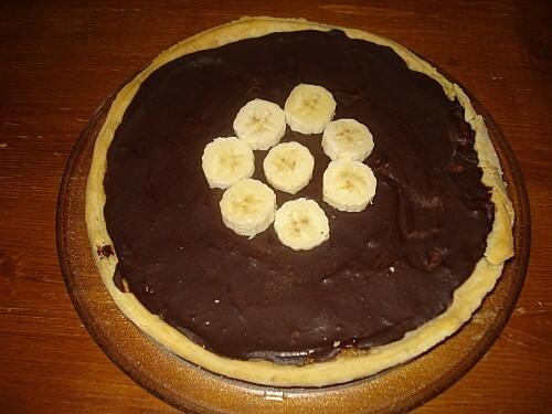 Tarte Bananes Chocolat