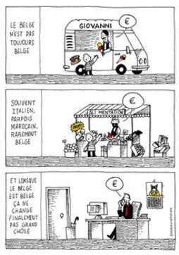 Le Belge, Jusqu'à preuve du contraire... Kosma & Lecrenier