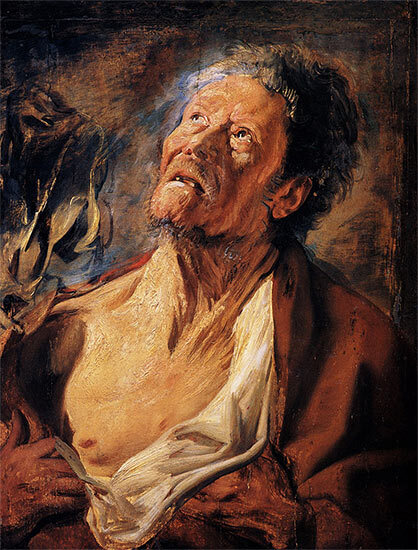 Job selon Jacob Jordaens