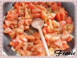 oeufs cocotte à la tomate