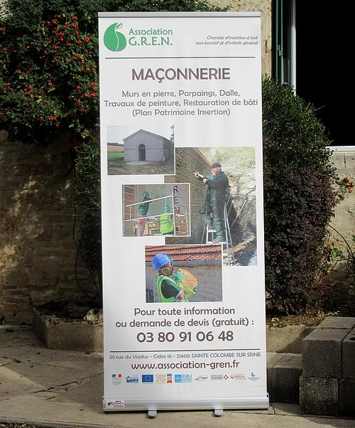 L'Association G.R.E.N. de Sainte Colombe sur Seine a fêté ses 25 ans !