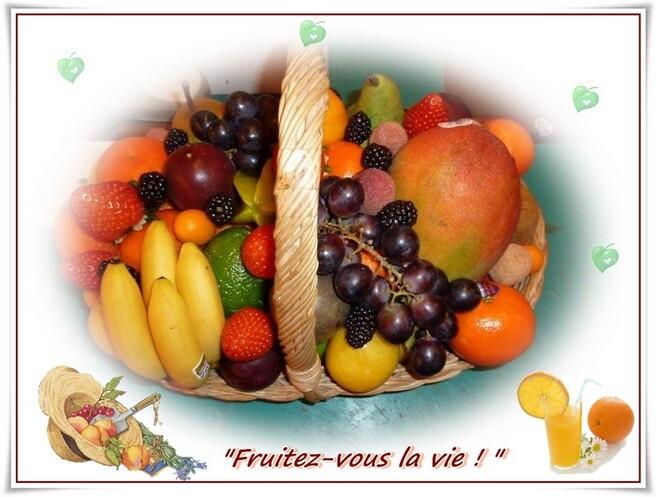 """Frais et gourmand ... """"Le melon"""" ..."""