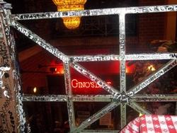 Chez Gino's East!