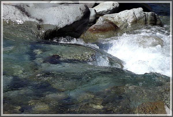 Clair comme de l'eau de roche