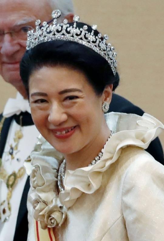 Tiare de l'impértrice du Japon
