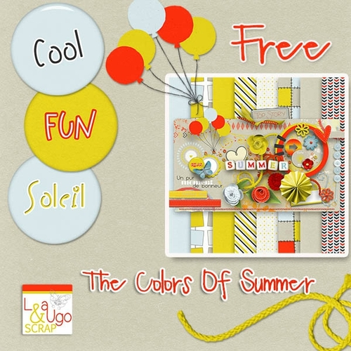 "LEAUGOSCRAP et ""The colors of summer"""