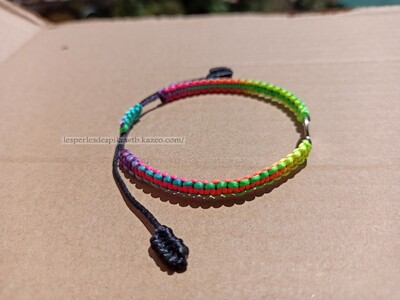 Bracelet Modèle Shamballa & Connecteur (1)