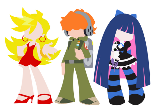 Panty and Stocking with Gaterbelt