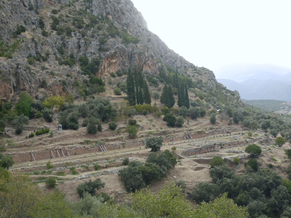 Delphes - Grèce - fin