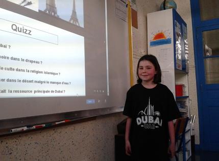 Joséphine présente Dubaï