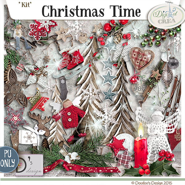 CHRISTMAS TIME by DOUDOU'S DESIGN