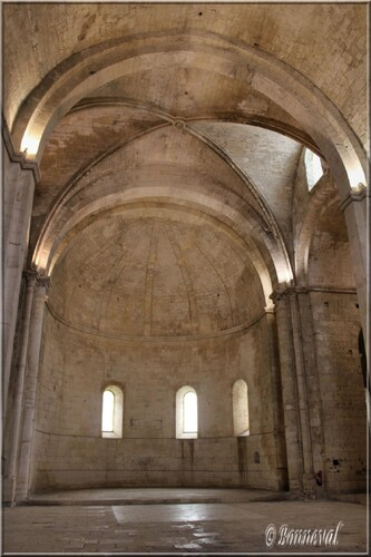 Abbaye de Montmajour Abbatiale Notre-Dame croisée du transept