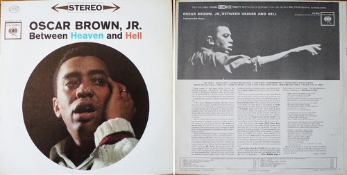 OSCAR BROWN JR. - Between Heaven and Hell - Columbia CS 8574 - 1962