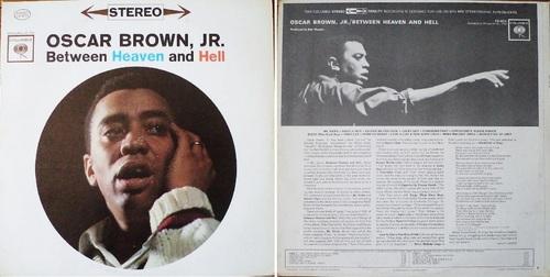 OSCAR BROWN JR. - Between Heaven and Hell - Columbia CS 8574 - 1962