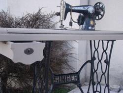 Mon bricolage...vieille machine à coudre Singer
