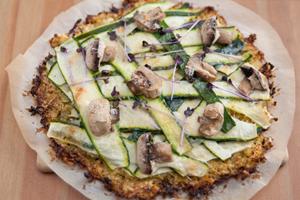 Préférez les pâtes à pizza à blé entier