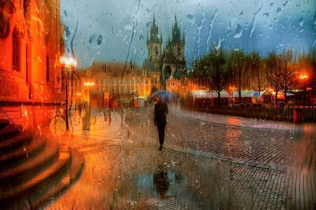 eduard gordeev photographies urbaines peinture style 6 - Ces Photos Urbaines sous la Pluie Ressemblent à des Peintures