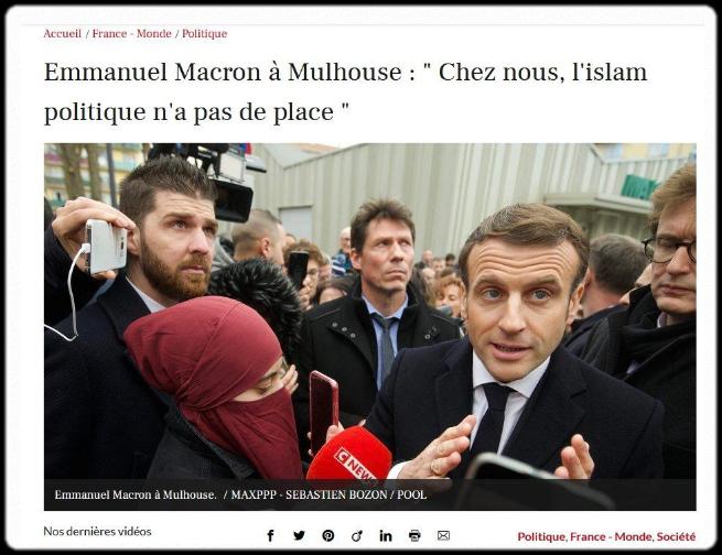 [Macron: bain de foule à Mulhouse]
