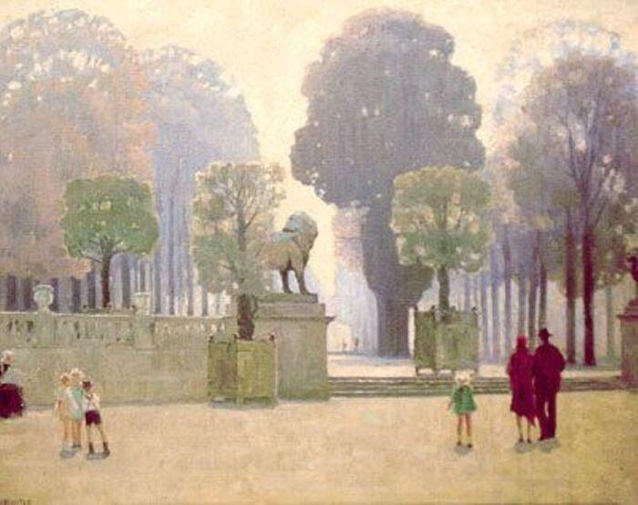 Anna Richards Brewster. Jardin du Luxembourg