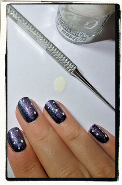 [Inspiration] Nail Art #2: In The Galaxy