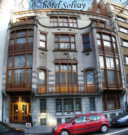 Patrimoine Mondial de l'Unesco : Les Maisons de Victor Horta à Bruxelles (Belgique)