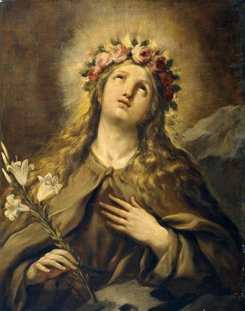 Sainte Rosalie. Vierge à Palerme, en Sicile († 1170)