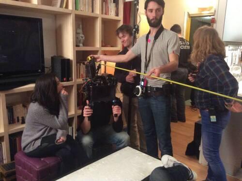 Les premières photos du tournage de Secret d'hiver