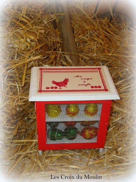 Une boite à oeufs trés pratique de Rachel pour Mathilde