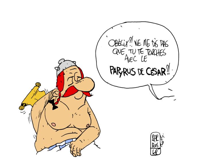 Le papyrus de César.