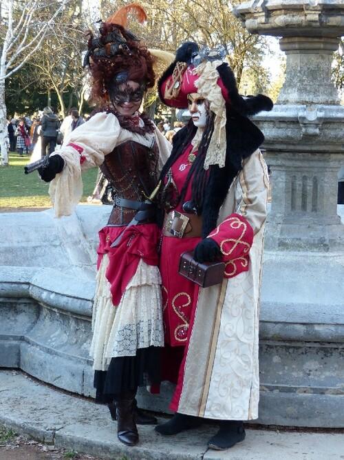Carnaval vénitien d'Annecy , partie 2.