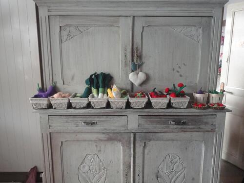 Paniers de fruits ou légumes ,10€ les 4 articles au choix