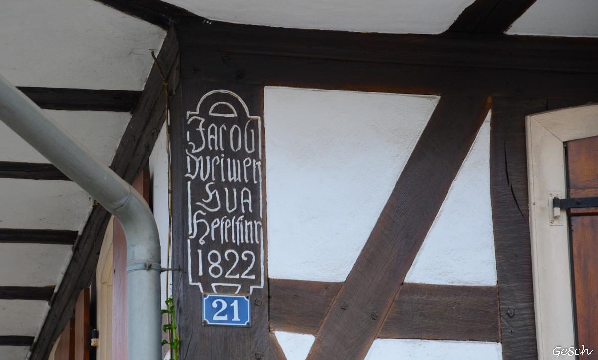 hunspach village prefere des francais alsace