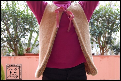 Gilet Reversible, couture, loisirs créatifs