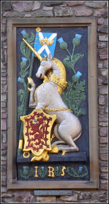 Voyage en Ecosse : Edimbourg 2  : Holyrood Castle