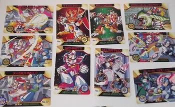 trading card megaman 05