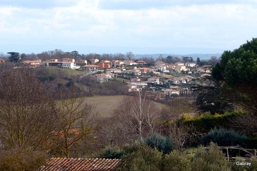 Paysages depuis Vieille-Toulouse