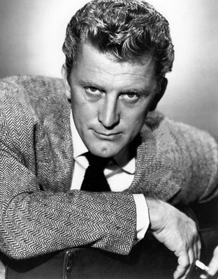 Kirk douglas photo signed
