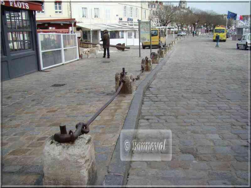 La Rochelle la chaîne qui barrait l'accès au port