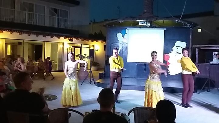 dernière soirée à l'hôtel - animation Flamenco olé !