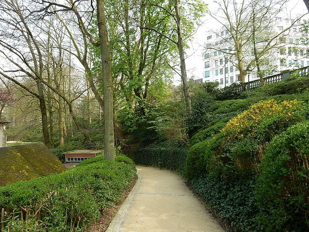 Les jardins de la Cambre