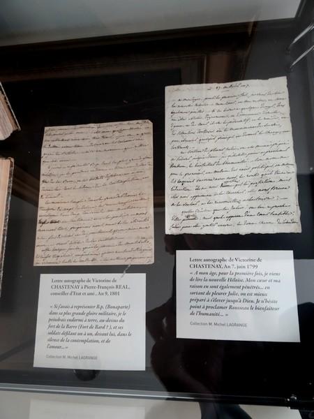 Une exposition sur Victorine de Chastenay au Musée du Pays Châtillonnais-Trésor de Vix