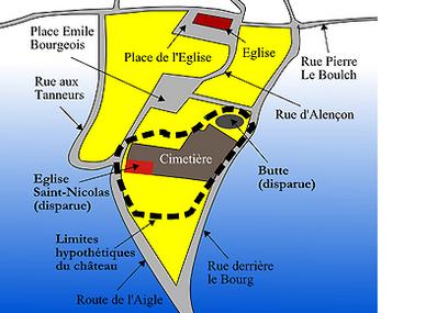 LES REMPARTS DE LA NEUVE-LYRE (Eure)