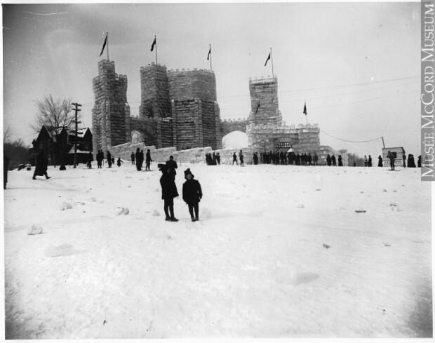 Bienvenue au Carnaval d'hiver de Montréal en 1883