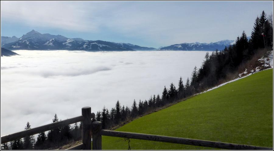 Quelques photos de Hte Savoie, fin décembre 2018...