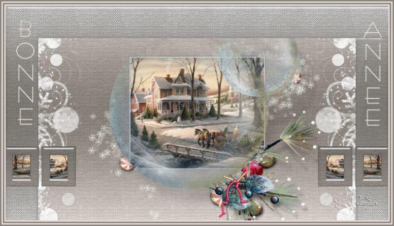 Joyeuses fêtes 2017 - Bonne Année 2018